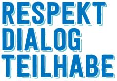 Respekt – Dialog – Teilhabe Logo